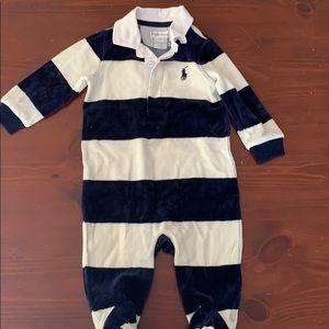 Ralph Lauren baby onesie outfit